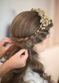 Festliche Frisuren Lange Haare Kinder by Kommunionfrisuren Zum Selbermachen Festliche Kinderfrisuren Für