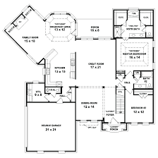 4 bedroom 2 bath house plans modern house plans one story two bedroom plan 2 small inside guest