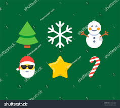 abstract funny flat style christmas snowman stock vector 515541823