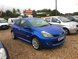 used renault clio renaultsport 197 manual cars for sale motors co uk