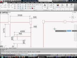 autocad draw floor plan using multi line youtube