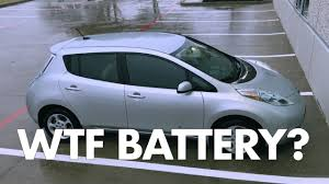 nissan leaf real world range nissan leaf terrible battery range youtube