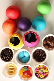 filled easter eggs not martha easter eggs the easy version