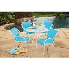 Steel Patio Furniture Sets by Garden Oasis Zs0131077 1 Hamlin Steel 5 Piece Sling Patio Set