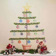 christmas wall decor wall mural decals removable wall graphics fabric wall stickers