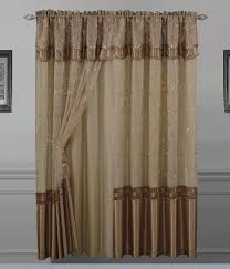 Priscilla Curtains With Attached Valance Valance Curtain With Attached Valance Priscilla Curtains