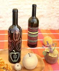 Diy Wine Bottle Vases 12 Cool Diy Wine Bottle Crafts For Indoors Shelterness