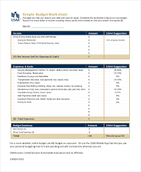 printable budget worksheet template 12 free word excel pdf