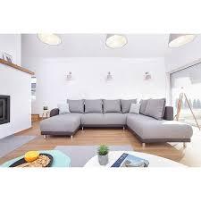 canapé gris anthracite pas cher minty panoramique droit canapé d angle convertible bobochic