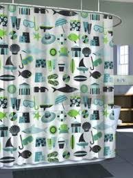 Amazon Com Shower Curtains - amazon com circus geo geometric circles big dots peva vinyl