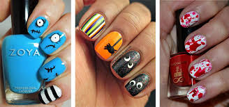 easy nail art characters 20 simple halloween nail art designs ideas trends stickers for