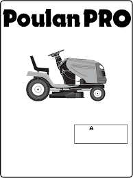 poulan lawn mower pb22h54bf user guide manualsonline com