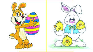 easter bunny drawing easy how to draw a cute bunny step by step
