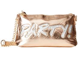 betsey johnson kitch light up crossbody party in pink lyst