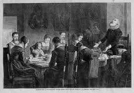 history of thanksgiving dinner thanksgiving dinner among the puritans the old days history