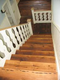 stair modern wood stair design with heart pine treads and ladder