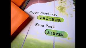 brother birthday greeting card from sister picsmine