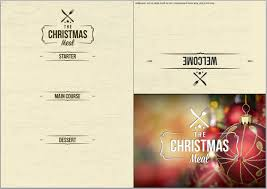 free blank christmas menu templates u2013 fun for christmas