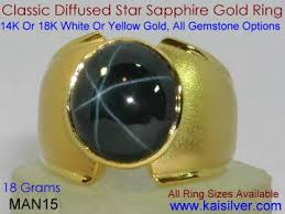 rings star sapphire images Star sapphire ring diffused star saphire custom rings jpg