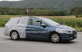 opel insignia 2016 2016 opel astra sports tourer spy shots