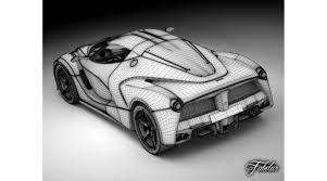 pagani drawing ferrari laferrari 3d library 3d models vehicles transports