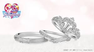 bridal rings images Get married in the name of the moon with sailor moon rings jpg