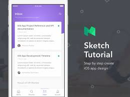 sketch tutorial step by step create ios app design by dwinawan