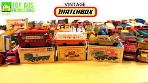 matchbox cars old vintage matchbox car collection in detail youtube