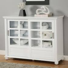 furniture elegant display antique white bookcase with wood finish