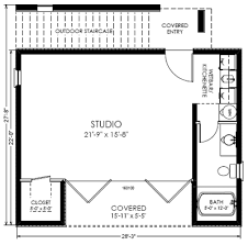 House With Studio Monster House Plans