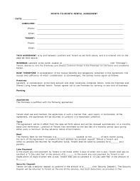 Simple Vendor Agreement Template Simple Fillable Basic Rental Agreement Or Residential Lease Create