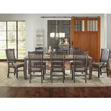 9pc dining room set picket house furnishings steele 9pc dining set table 8 wooden
