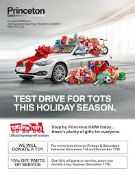 princeton bmw service already in the spirit princeton bmw and toys for tots