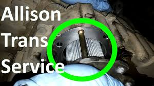 how to do an allison transmission service allison 4