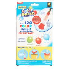 battle balloons color burst 120 count walmart com