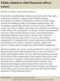 cfo resume samples pdf top 8 chief financial officer resume samples