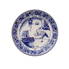 birth plates personalized 6 delft blue birth plate personalized birth tiles birth plates