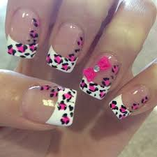 Nail Designs Cheetah 50 Stylish Leopard And Cheetah Nail Designs For Creative Juice