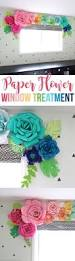 create a whimsical colorful and unique window treatment using