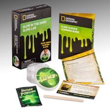 amazon com slime diy science lab u2013 make glowing slime with