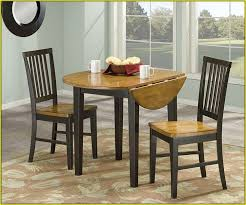 Drop Leaf Kitchen Table For Small Spaces Small Drop Leaf Kitchen Table 2 Chairs Home Design Ideas Regarding
