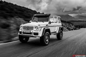 mercedes land rover white exclusive mercedes benz g500 4x4 review gtspirit