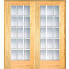 Interior Double Doors Home Depot 48 X 80 French Doors Interior U0026 Closet Doors The Home Depot