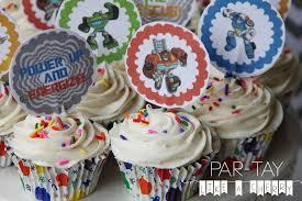 bumblebee transformer cake topper free printable transformers rescue bots cupcake toppers transformers cupcakes cupcake