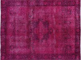 purple and pink area rugs persian overdyed collection hand knotted 7 u0027x9 u0027 pink oriental wool
