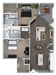 2 bedroom apartments fort worth tx 2 bedroom 2 bathroom floorplan at 555 ross avenue apartments in