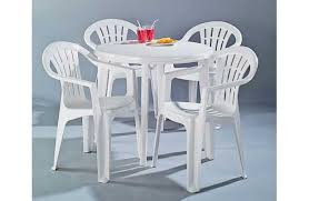 round plastic patio table iron wood