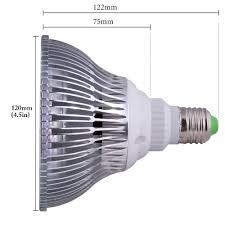 Grow Light Bulb Abi Full Spectrum 18w Led Grow Light Bulb E26 Base Red 610 640 Nm