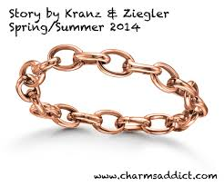 links bracelet rose gold images Story by kranz ziegler link bracelet review charms addict jpg