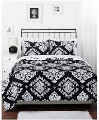 White Black Comforter Sets Get The Black And White Noir Comforter Set From Walmart For 39